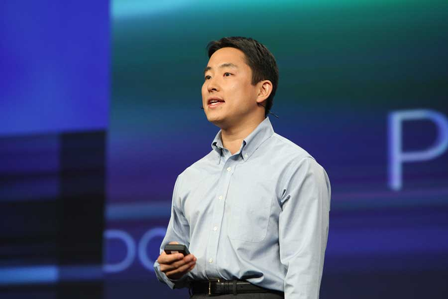 Takeshi Numoto Microsoft Coporate Vice President, shares news on Office Web applications for Microsoft Office. Credit: D.Begley / Flickr