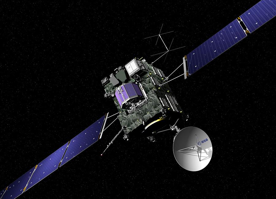 ESA's-Rosetta-Spacecraft