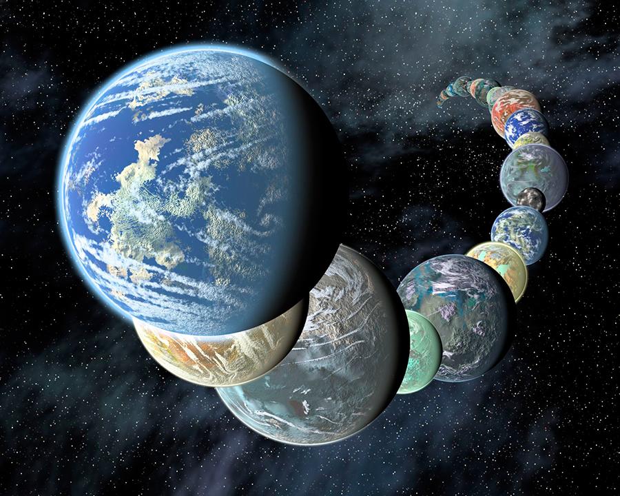 Life-on-Earth-Like-Planets