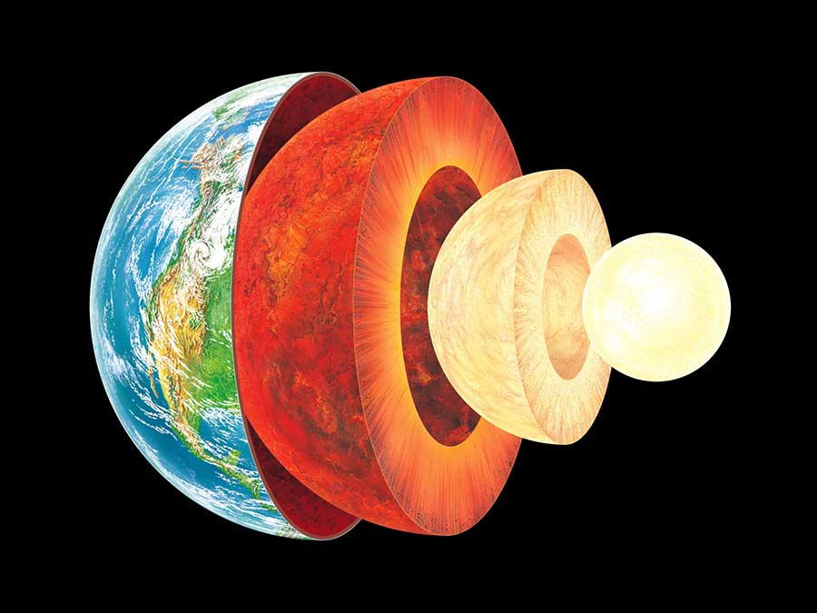 Earth's Inner Core Cool down More than 1.3 Billion Years Ago
