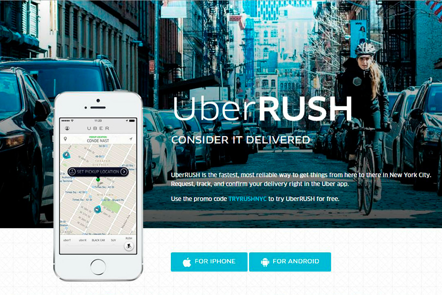 Uber-introduces-UberRUSH