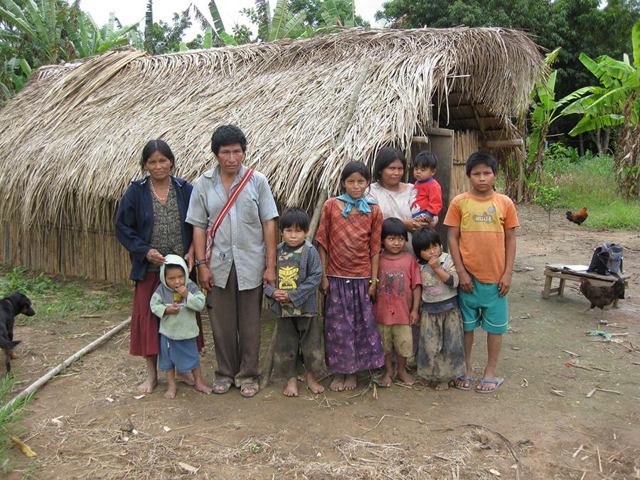 Tsimane-family-Bolivia