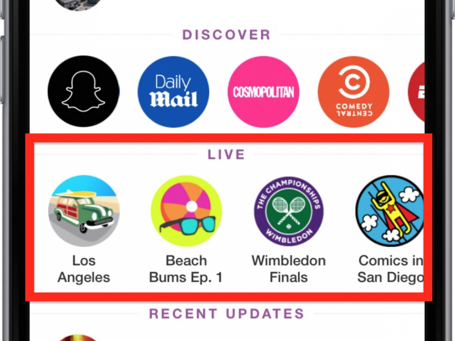 The Discover section on Snapchat keeps expanding. Photo: TechInsider.