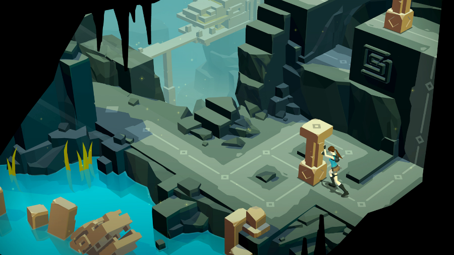 Lara Croft GO costs $4.99, but for a short amount of time buyers can get the game for only $2.99, complete with the free expansion, according to TechTimes. Image: GooglePlay.