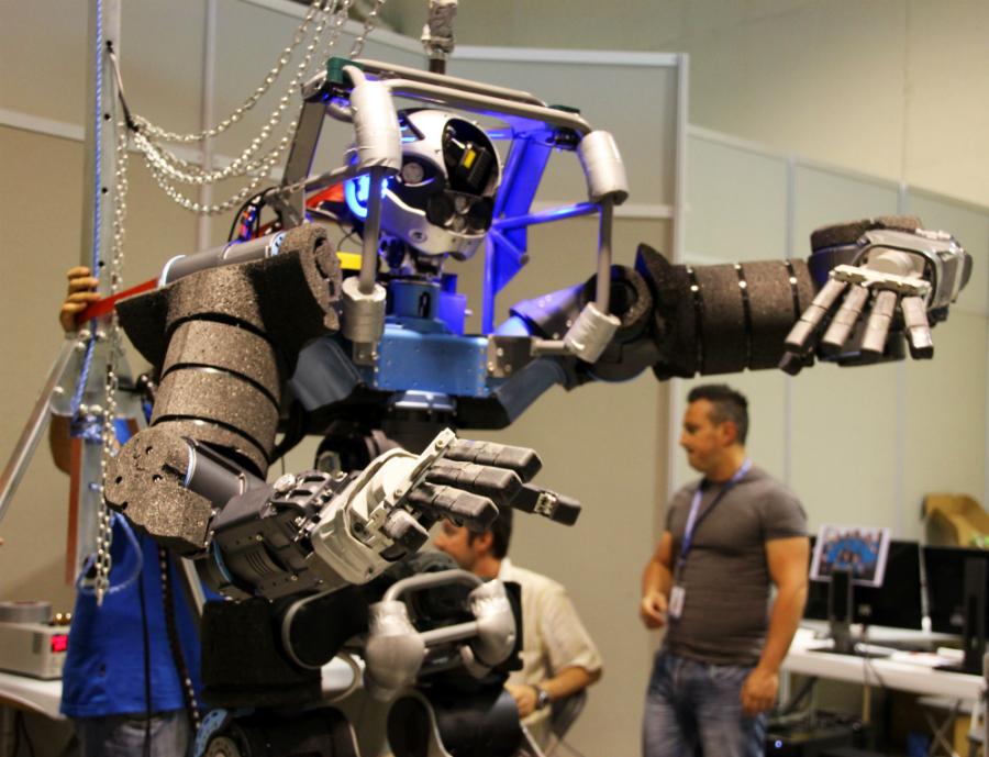 walk-man-human-robot