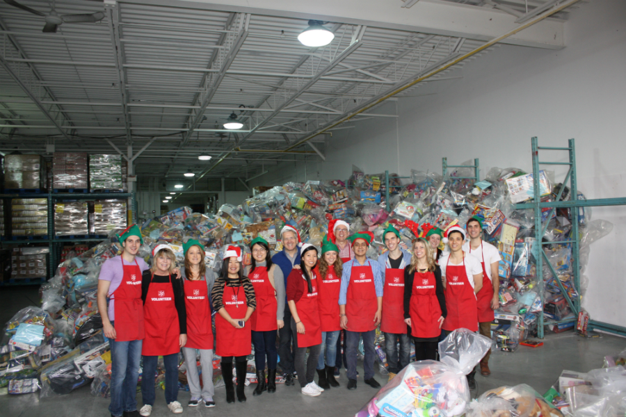 The Salvation Army Volunteers last year, taking their initiative to Toronto .Photo: Level5.