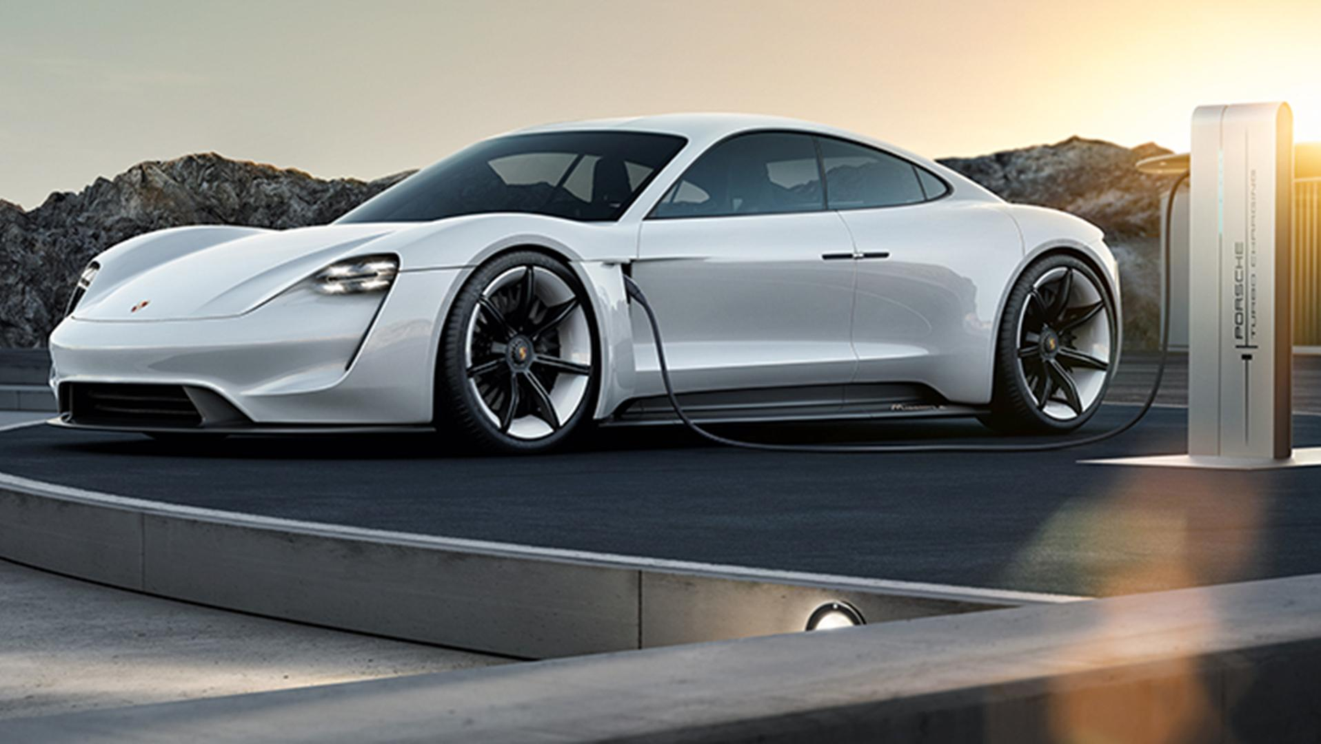 Porsche Mission E Deluxe Electric Car By 2020