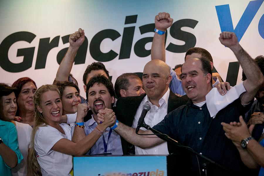 Venezuelan-Opposition-Wins