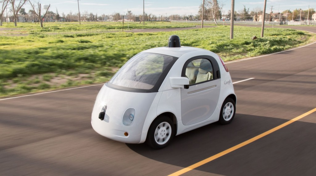Google self-driving car prototype, already tested on the streets. Photo: Google.