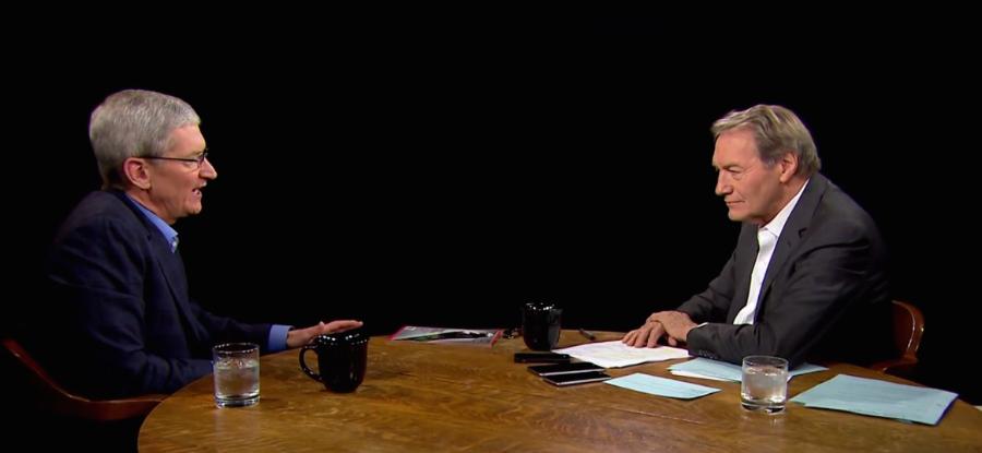 Photo: Charlie Rose Show/ The Next Web.