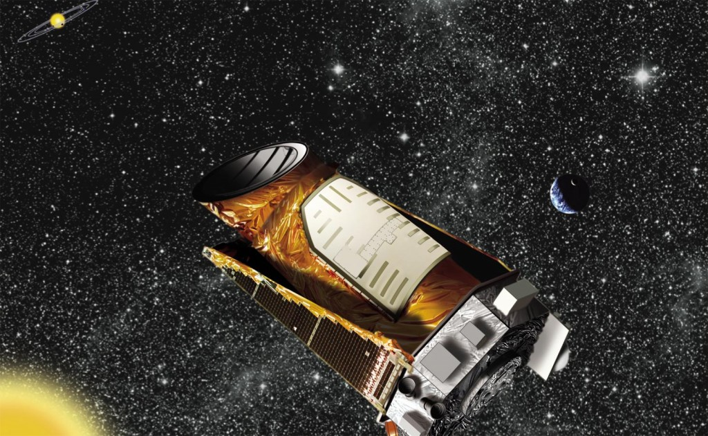 NASA's Kepler Spacecraft. Image: NASA.