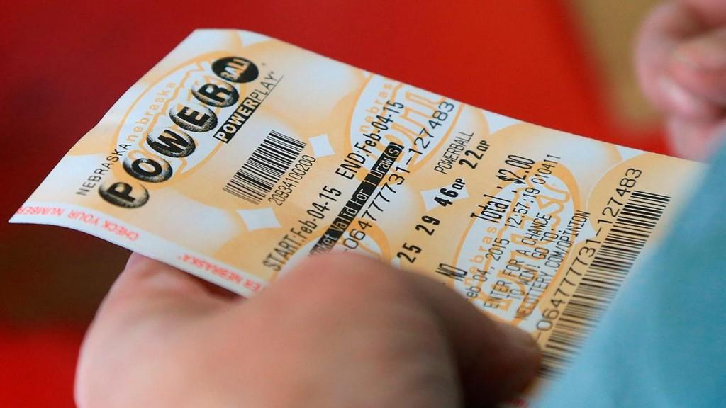 A Powerball ticket. Photo: ABC13