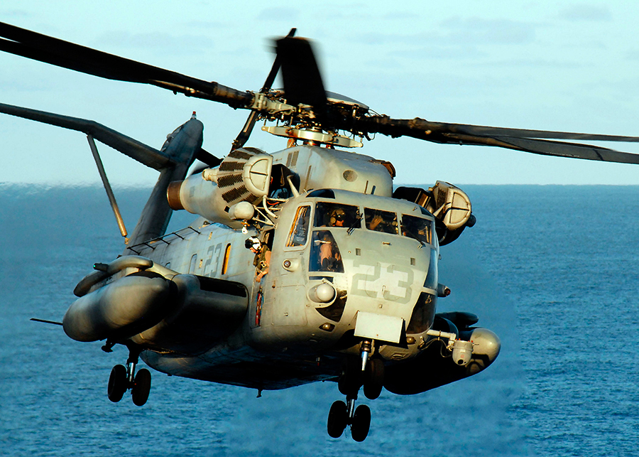 CH-53-Marine-helicopter