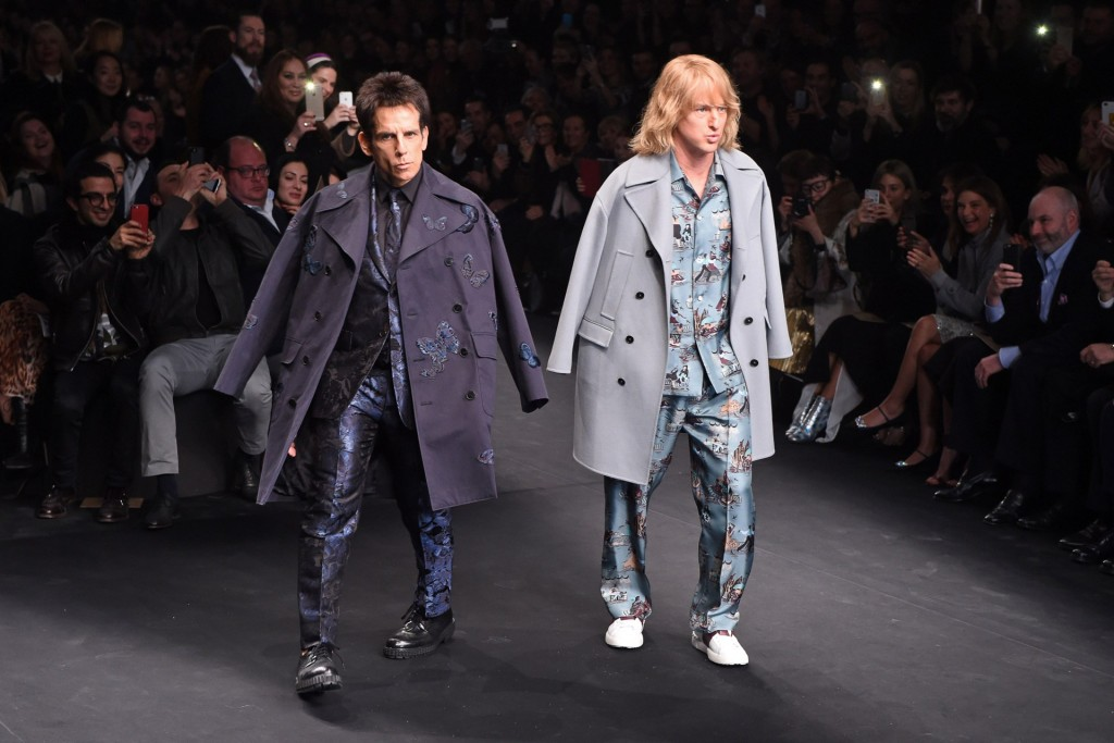 Ben Stiller and Owen Wilson are back together to star the fashion comedy. Photo: Vogue UK