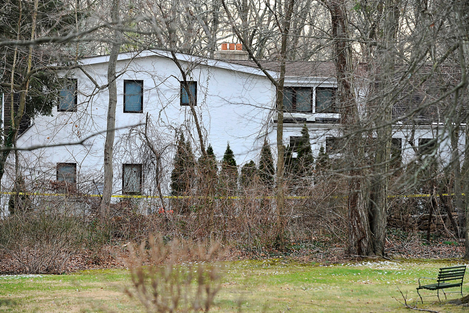 The Scarsdale home where a woman was found dead in the shower. Credit: The New York Post/Matthew McDermott