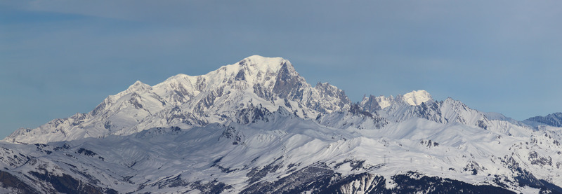 "Mont Blanc, meaning ""White Mountain"", is the highest mountain in the Alps and the European Union. Photo: Mountain Forecast"