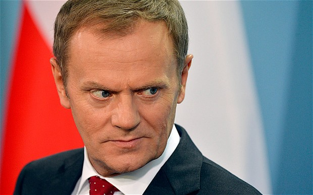Donald Tusk, president of the European council Photo: Telegraph UK/GETTY IMAGES