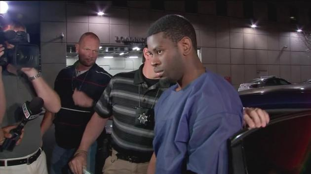 A picture of Isaac Tiharihondi's arrest. Photo: ABC13
