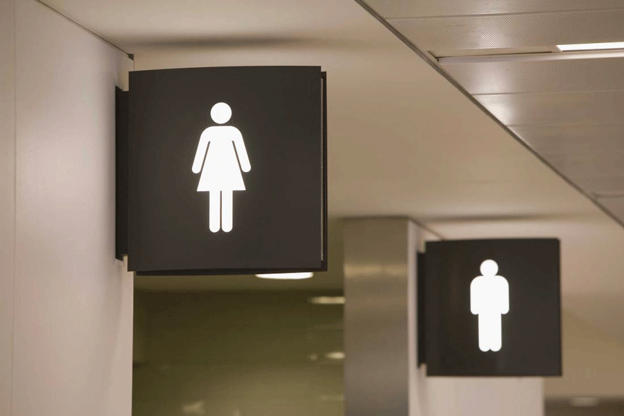 The state senate approved on Tuesday a bill that will require transgender students to use restrooms and locker rooms in public schools that correspond to their gender at birth. Photo credit: Getty Images