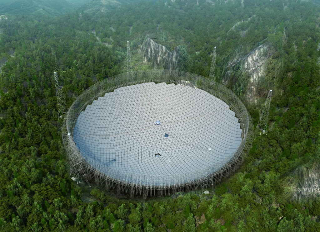 Photo: CNET/National Astronomical Observatory of China