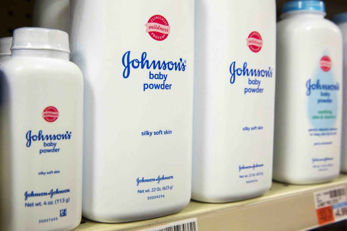 Johnson & Johnson ordered to pay US$72 million in talc cancer case