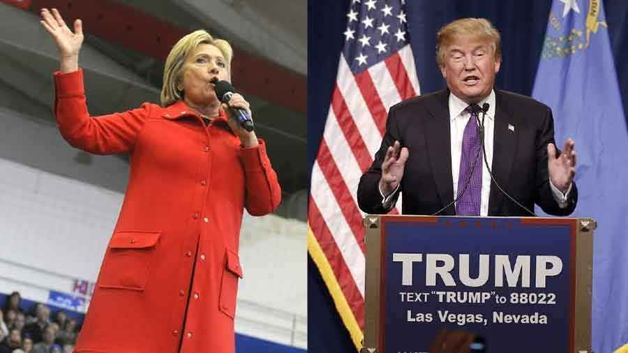 Super Tuesday is likely to be a huge day for Hillary Clinton and Donald Trump, who lead in a CNN/ORC national poll released Monday. Photo credit: Komonews