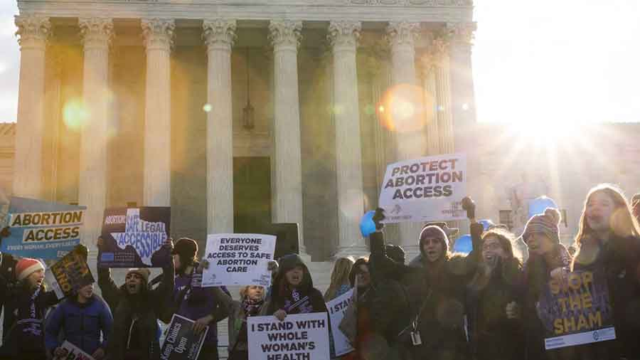 On Wednesday, the Supreme Court will take up its first major abortion case in years as Whole Woman's Health v Hellerstedt will go before the Court. Photo credit: Drew Angerer / Getty Images
