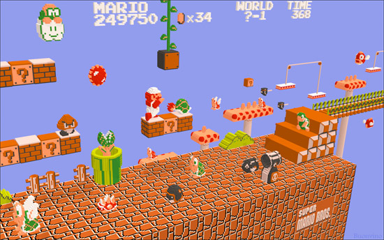 Image: 3DNES Emulator
