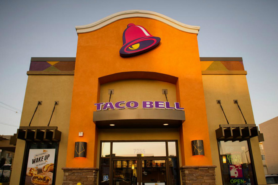 The Taco Bell franchise introduced a $1 breakfast menu containing 10 items to offer. Photo credit: Time