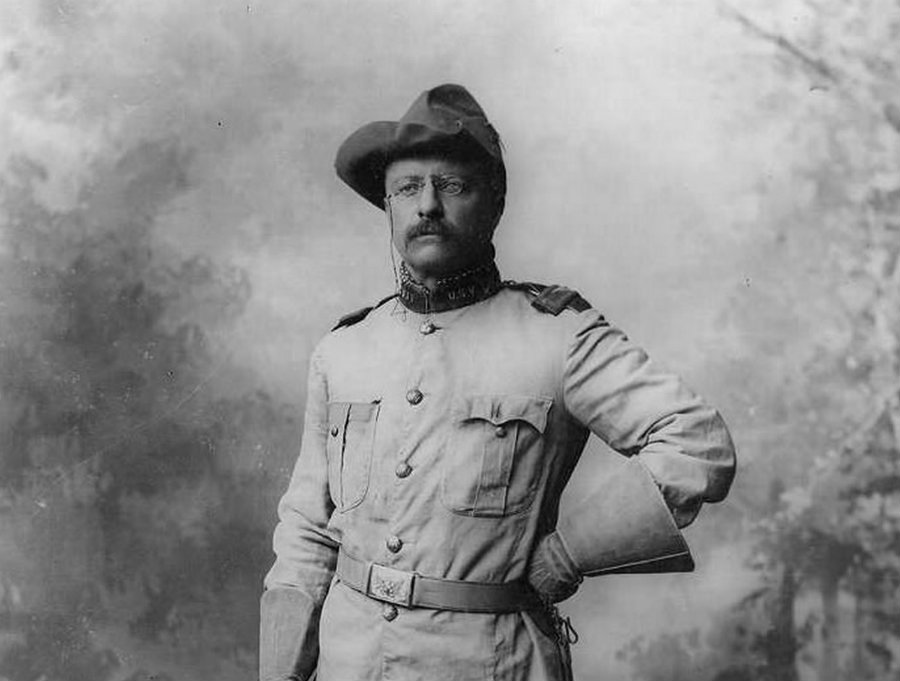 Theodor Roosevelt was one of the main participants to participate in hunts for black bears back in 1902. Photo credit: