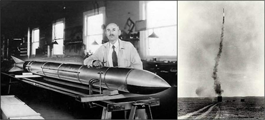 It's been 90 years since the first liquid-fueled rocket lifted off led as an experiment by Robert Goddard, a physics professor from Massachusetts. Photo credit: White Eagle Aerospace