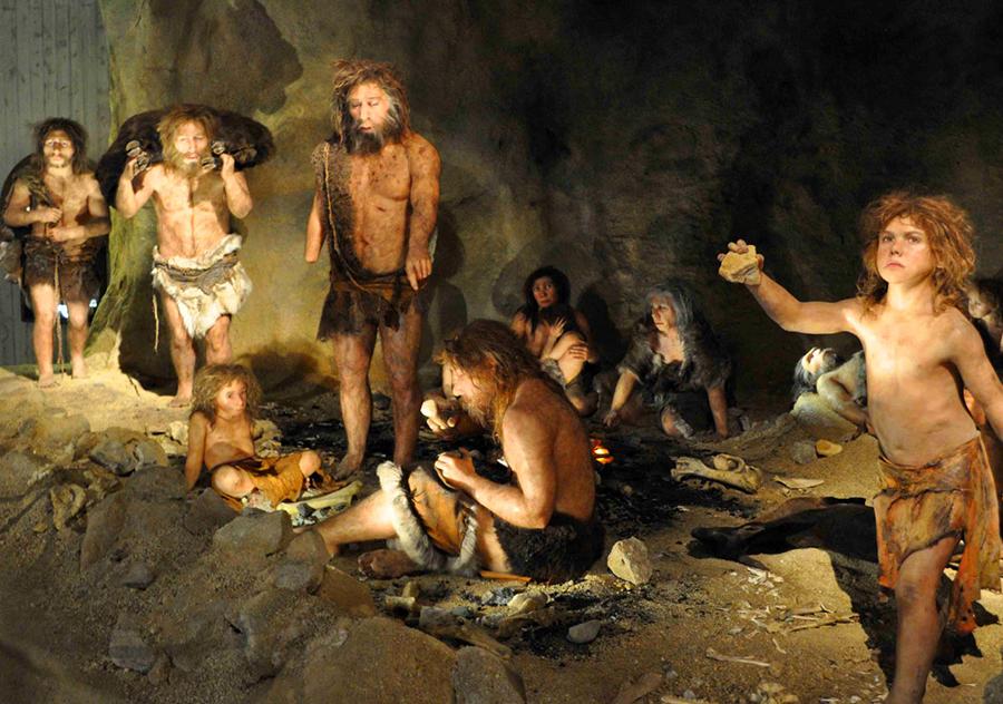 Neanderthals-modern-humans