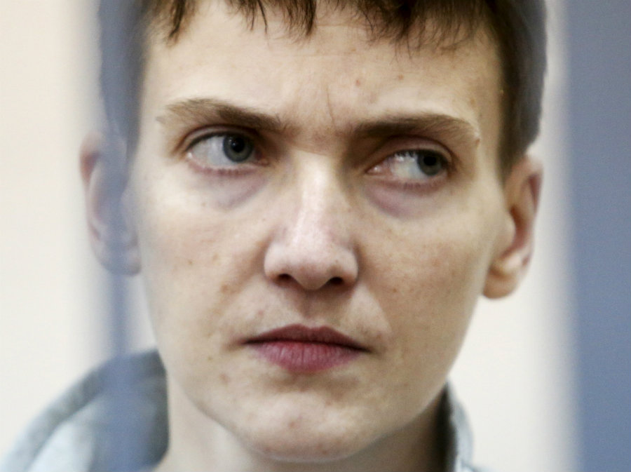 A Russian judge has started deliberation to decide whether Ukrainian pilot, Nadiya Savchenko, is to be found guilty of complicity to murder two Russian journalists during the war-torn eastern Ukraine. Photo credit: IB Times