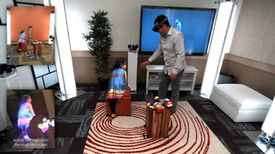 Science fiction becomes reality as Microsoft pulls off holoportation