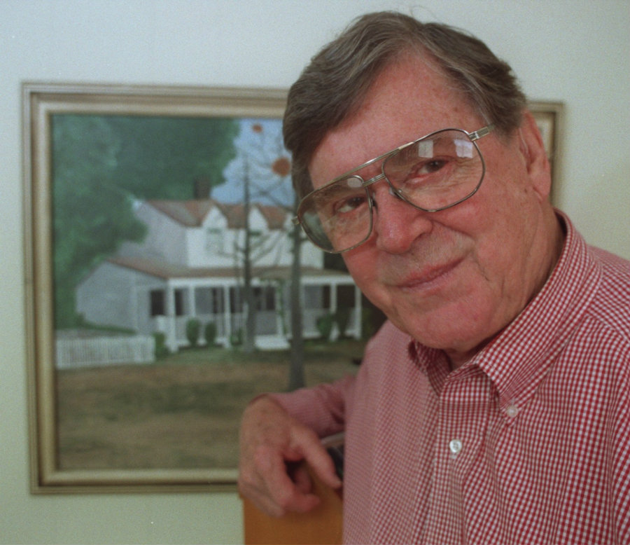 "Famed writer and creator of the famed television series ""The Walton's"", Earl Hamner has passed away on Thursday at age 92. Photo credit: Washington Post"