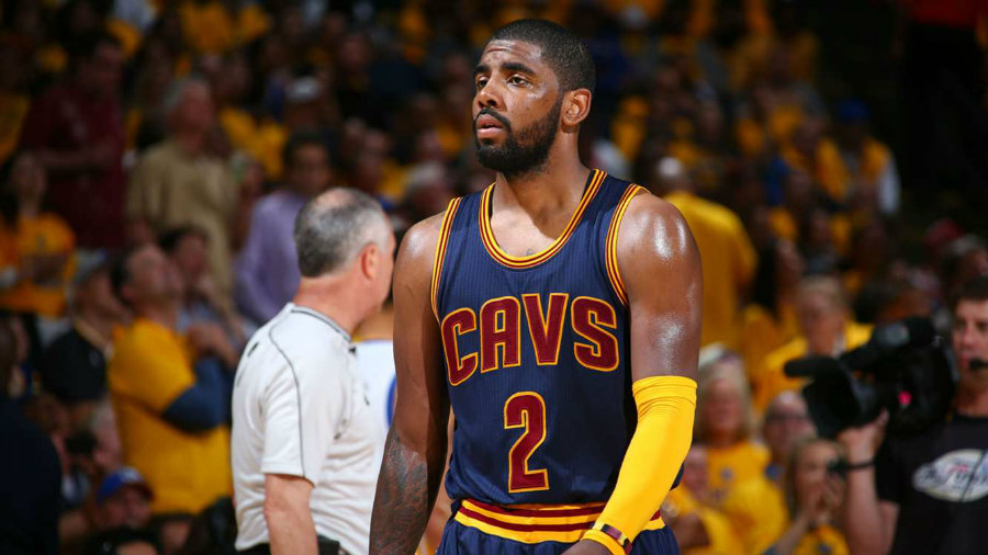 Kyrie Irving will be a benchwarmer on Cleveland's game against the New York Knicks that will take place on Saturday. Photo credit: Universo Deportivo