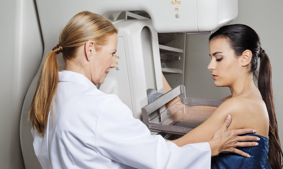 Researchers have determined that digital mammography may also reveal heart disease risk and inform the patient of potentially life-saving information in just one exam. Photo credit: RSNA