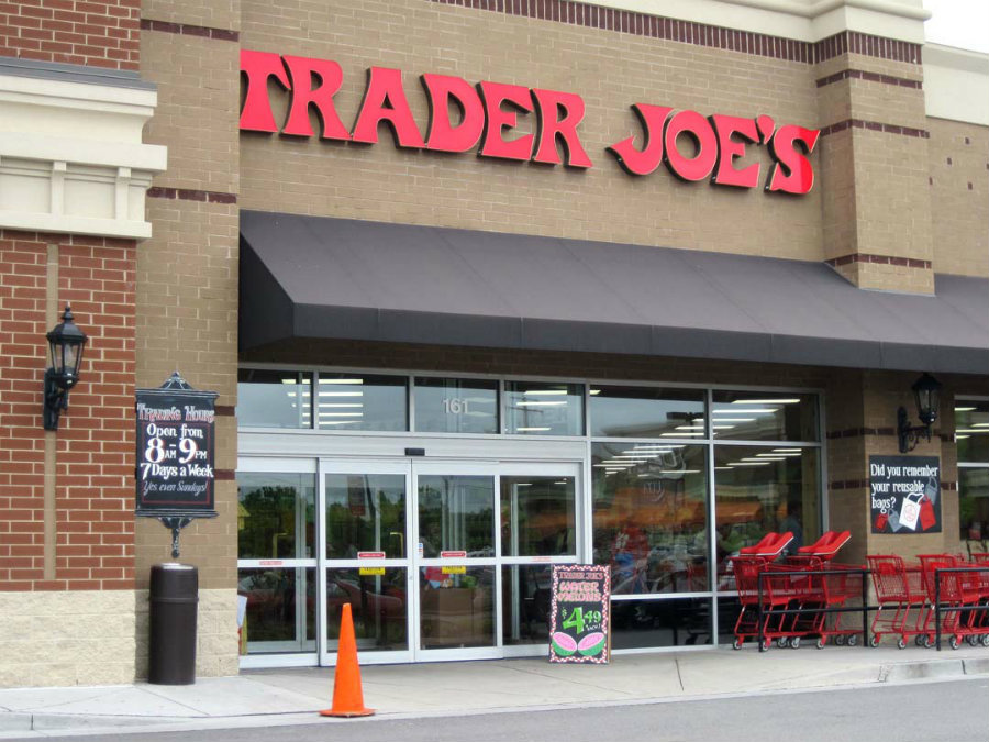 Trader Joe's has issued a recall for Chocolate Orange Sticks and Chocolate Raspberry Sticks due to undeclared traces of milk in its ingredients. Photo credit: