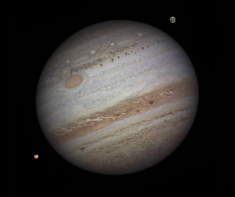 NASA'S Chandra X-ray telescope provided spectacular images from Jupiter's X-ray version of auroras. Photo credit: NASA