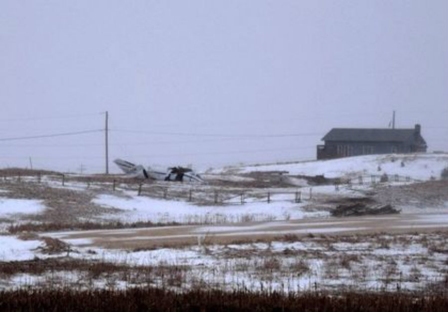 At least 7 people have been reported dead from a small plane crash in eastern Quebec. Photo credit: Toronto Sun