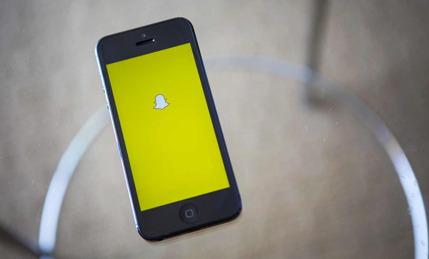 A new version of Snapchat has come and it is taking online conversations to a whole new level. Photo credit: Reuters / Engadget