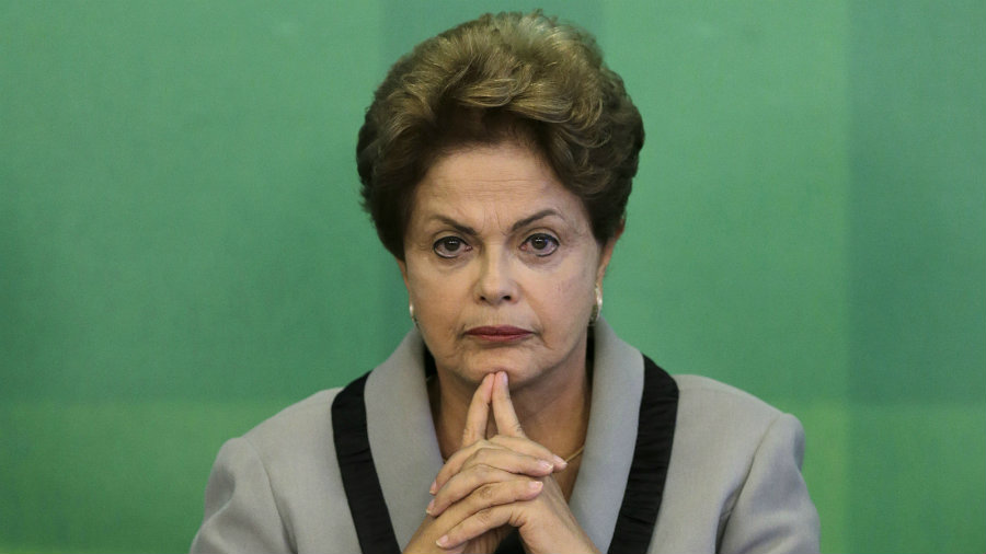 The main party in Brazilian President Dilma Rousseff's coalition abandoned her government on Tuesday. Photo credit: