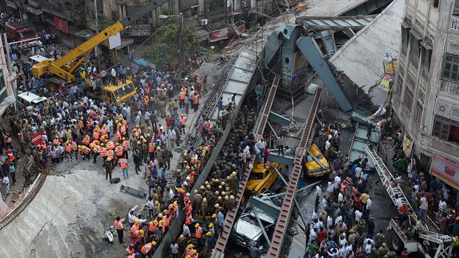 Kolkata-Collapse