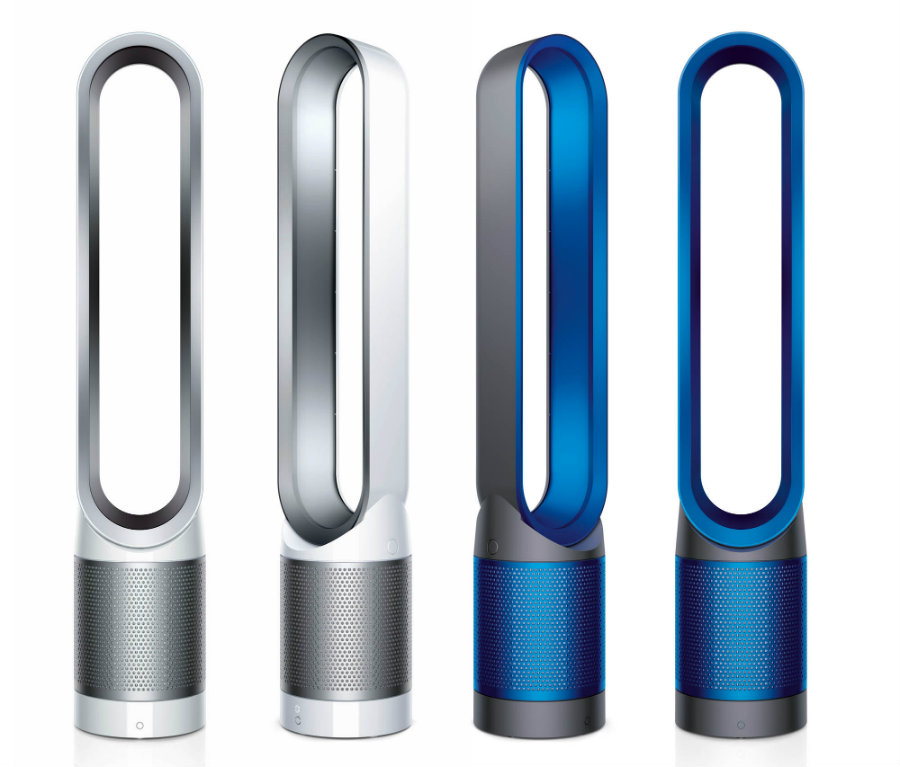 Dyson has developed an elegant way for people to keep their houses clean by introducing a purifier fan available from $500. Photo credit: Just Luxe