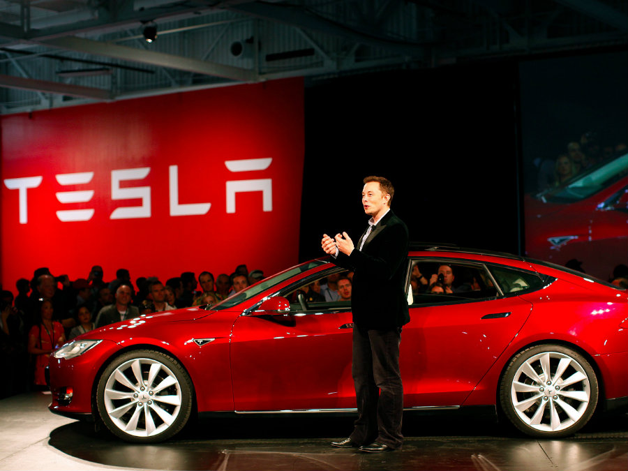 Elon Musk has yet to figure out how will Tesla Motors be capable of meeting its nearly 200,000 reservations of the Tesla Model 3 car unveiled earlier this week. Photo credit: Tech Insider