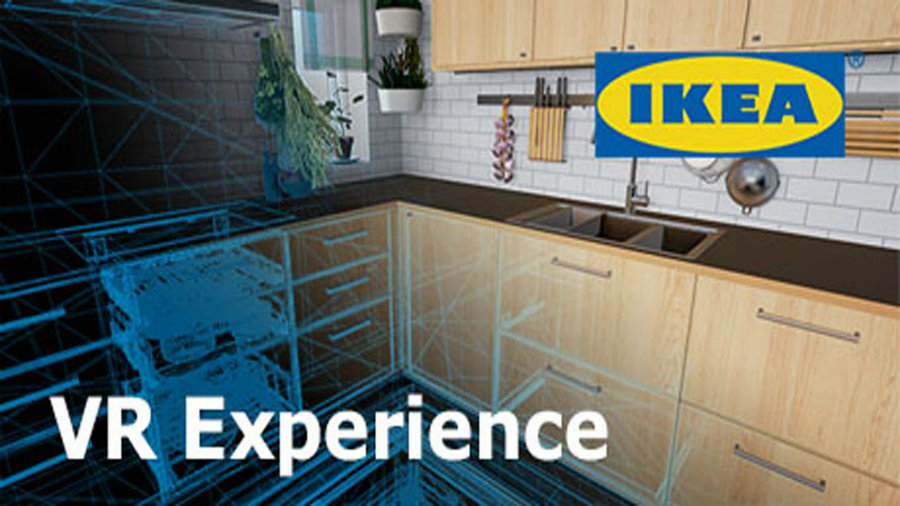 IKEA announced the launch of the IKEA VR Experience, an app that introduces users into a virtual IKEA real-world-sized kitchen. Photo credit: Brad Lynch