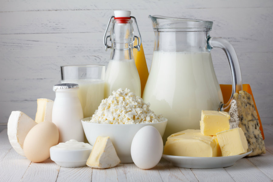 A new study has determined that people with higher fat levels in their blood coming from dairy, were 40 percent less likely to develop diabetes. Photo credit: They Daily Crisp