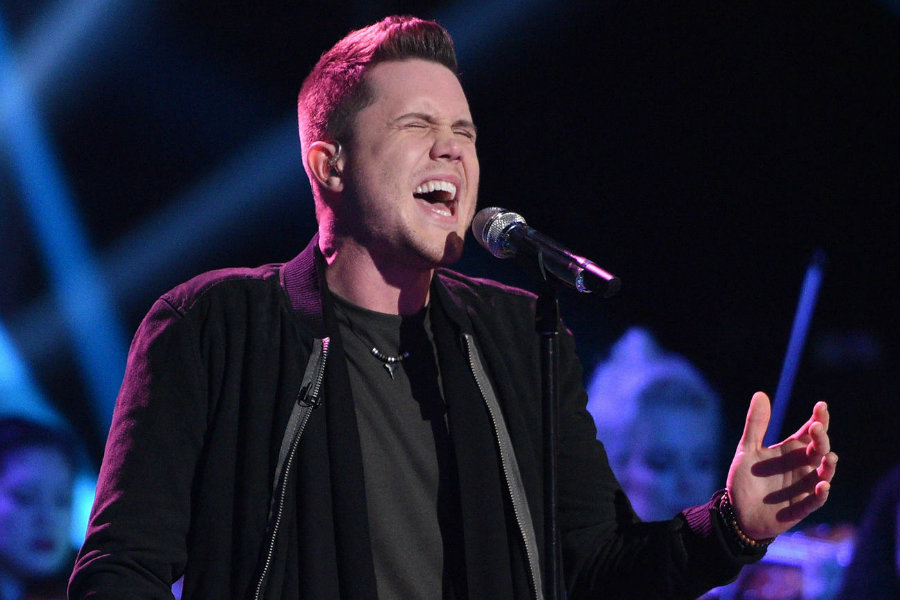 Trent Harmon a white male from Mississippi defeated La'Porsha Renae a single mother from the same state. Photo credit: American Idol / TV Guide