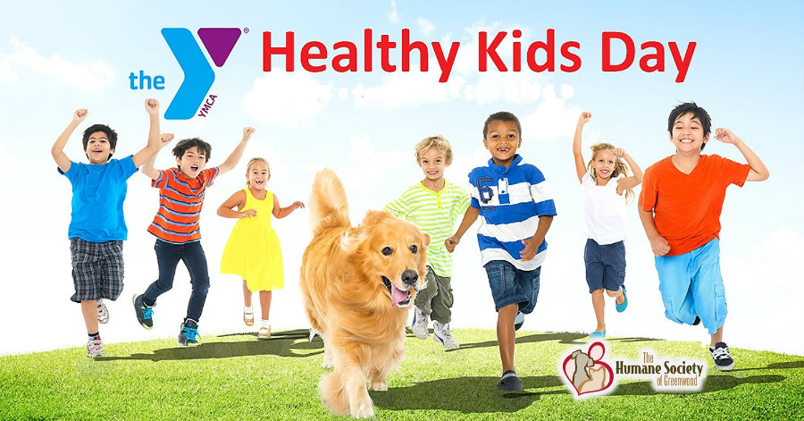 Healthy Kids Day is a YMCA's national initiative to improve the health and well-being of not only kids but families.