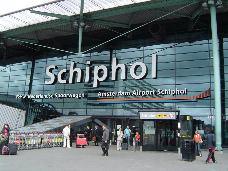 A section of Amsterdam's Schiphol airport was evacuated earlier on Tuesday, April 12, due to a bomb alert related to a man with suspicious behavior. Photo credit: Amsterdam Layovers
